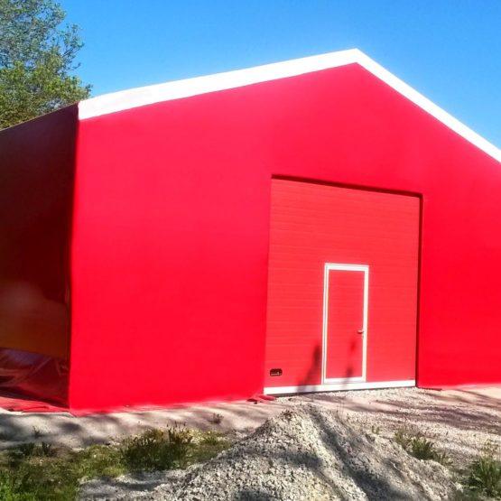 Punane PVC Hall