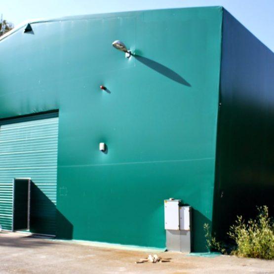 Roheline väike PVC Hall